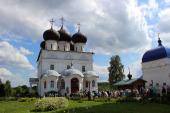 Великорецкий образ святителя Николая вновь принесен к месту своего пребывания в Успенский Трифонов монастырь
