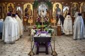 Состоялось отпевание епископа Серафима (Глушакова)