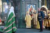 Слово Святейшего Патриарха Кирилла после Литургии в главном храме Вооруженных сил Российской Федерации