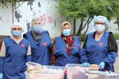В Курганской епархии возобновили благотворительные обеды для бездомных
