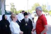 Мэр Москвы С.С. Собянин посетил столичный Новодевичий монастырь
