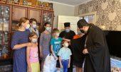 Правящий архиерей Златоустовской епархии принимает участие в епархиальном волонтерском движении