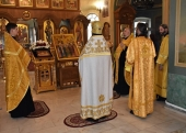 Memory of Russian and American saints honoured at Moscow representation of Orthodox Church in America