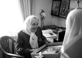 Святейший Патриарх Кирилл выразил соболезнования в связи с кончиной бывшей сотрудницы Ленинградских духовных школ Н.Ф. Устименко