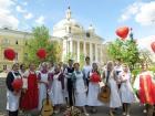 Патриаршее поздравление выпускникам Свято-Димитриевского училища сестер милосердия по случаю окончания учебного заведения