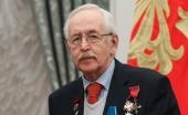 Поздравление Святейшего Патриарха Кирилла народному артисту РСФСР В.Б. Ливанову с 85-летием со дня рождения