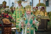 В Киево-Печерской лавре прошли торжества по случаю дня тезоименитства Блаженнейшего митрополита Киевского и всея Украины Онуфрия
