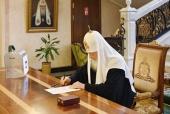 Святейший Патриарх Кирилл принял участие в голосовании по поправкам в Конституцию РФ