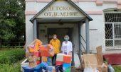 Пациенты нижегородской психо-неврологической больницы № 1 получили гуманитарную помощь от Нижегородской епархии