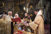 Archimandrite Symeon (Cossec) consecrated as Bishop of Domodedovo, vicar of the Archdiocese of Western European Parishes of Russian Tradition