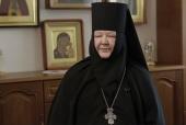 Патриаршее поздравление настоятельнице Покровского Хотькова монастыря игумении Олимпиаде (Барановой) с 70-летием со дня рождения