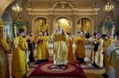 В день памяти святителя Ионы, митрополита Московского и всея России, Патриарший наместник Московской епархии возглавил Литургию в Новодевичьем монастыре столицы