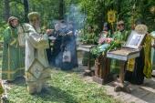 В Калужской митрополии молитвенно почтили память преподобного Тихона Калужского