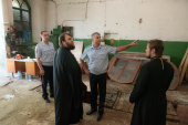 Продолжается восстановление собора Сошествия Святого Духа в центре Вологды