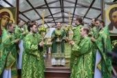 В Успенском Псково-Печерском монастыре отпраздновали Собор преподобных отцов Псково-Печерских