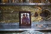 В Троице-Сергиевой лавре освятили икону, изготовленную к 500-летию Сийского монастыря