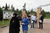 Министр культуры России О.Б. Любимова посетила с рабочим визитом Зосимову пустынь