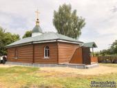 Новый храм Украинской Православной Церкви построен в Оленевке взамен захваченного раскольниками