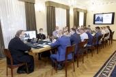 Митрополит Ростовский Меркурий провел совещание с руководителями подразделений ХПП «Софрино»