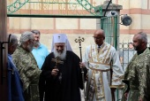 His Holiness Patriarch of Serbia visits Russian Orthodox Church metochion in Belgrade