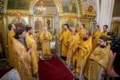 Патриарший наместник Московской епархии возглавил торжества по случаю десятилетия храма иконы Божией Матери «Спорительница хлебов» в Щелково