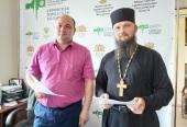 Верующие Серовской епархии подарили городской больнице кислородный концентратор