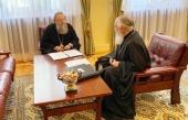 Председатель Синодального отдела религиозного образования и катехизации и глава Издательского Совета обсудили совместные проекты