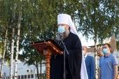 Митрополит Ростовский Меркурий встретился с сотрудниками предприятия «Софрино»
