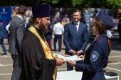 Ответственный секретарь Синодального комитета по взаимодействию с казачеством благословил выпускников Первого казачьего университета