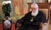 His Holiness Patriarch Kirill extends greetings to Primate of Georgian Orthodox Church on his Name Day