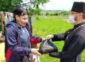 Церковь передает продукты нуждающимся по всей стране. Информационная сводка от 13 июля 2020 года