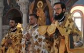 В день памяти апостолов Петра и Павла Патриарший экзарх Западной Европы совершил Литургию в Екатерининском храме в Риме