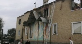 В результате лесного пожара в Луганской области сгорел храм Украинской Православной Церкви