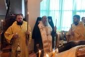 В день национального траура митрополит Астанайский Александр совершил литию по казахстанцам, скончавшимся от коронавирусной инфекции
