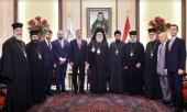 Предстоятель Антиохийской Православной Церкви встретился с представителем Патриарха Московского и всея Руси при Антиохийском Патриаршем престоле