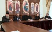 Председатель Финансово-хозяйственного управлении провел совещание по вопросу передачи имущественного комплекса Шамординского монастыря