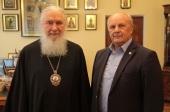 Состоялась рабочая встреча главы Издательского Совета и председателя Союза писателей России