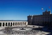 Архиепископ Мадридский и Лиссабонский Нестор посетил церемонию памяти жертв коронавирусной инфекции в Королевском дворце Мадрида