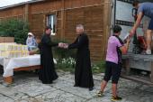 Нуждающиеся семьи Томской области получили адресную помощь от Церкви