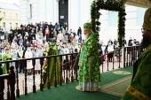 Слово Святейшего Патриарха Кирилла в день памяти преподобного Сергия Радонежского после Литургии в Троице-Сергиевой лавре