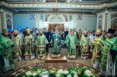 Предстоятель Украинской Православной Церкви возглавил торжества престольного праздника в киевском приходе в честь прп. Сергия Радонежского