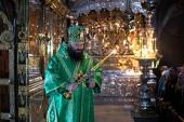 В Троице-Сергиевой лавре прошли торжества по случаю праздника Собора всех Радонежских святых