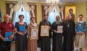Блаженнейший митрополит Киевский Онуфрий вручил церковные награды сотрудникам редакции молодежного журнала «Отрок»