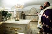 В Троице-Сергиевой лавре вознесли молитвы о упокоении приснопамятного Святейшего Патриарха Пимена