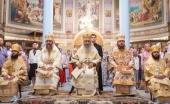 Блаженнейший митрополит Онуфрий возглавил торжества престольного праздника в Ольгинском соборе в Киеве