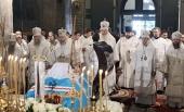 Состоялось отпевание митрополита Евлогия (Смирнова)