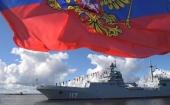 В День Военно-морского флота России митрополит Санкт-Петербургский Варсонофий посетил Главный военно-морской парад