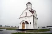 Патриарший экзарх всея Беларуси освятил храм преподобного Серафима Саровского в городе Островец Гродненской области