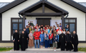На острове Коневец проходит епархиальный молодежный форум «Духовная, физическая и виртуальная безопасность 3D»