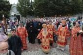 В Успенском соборе города Коломны Патриарший наместник Московской епархии молитвенно почтил память новомучеников и исповедников Коломенских